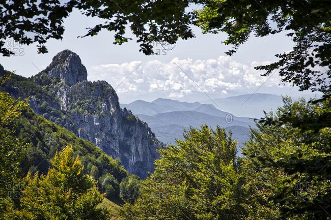Alp mountain in Airolo, Switzerland
