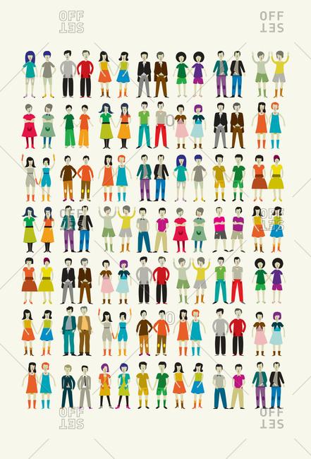 Many same-sex pairs