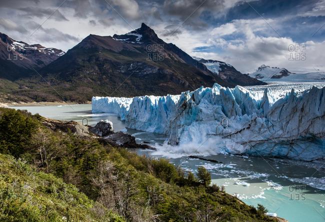 The Perito Moreno Glacier in Argentina