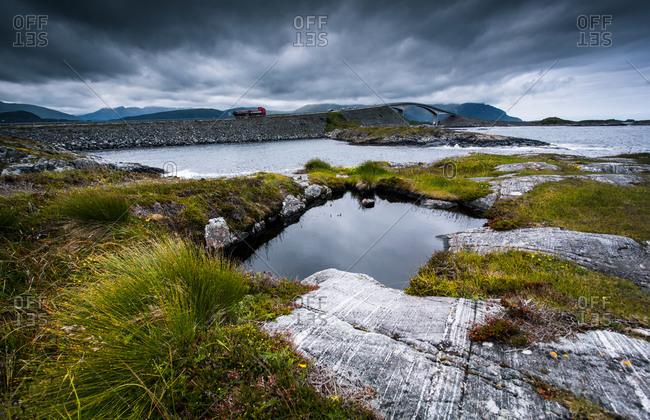 A small stone bridge in Norway