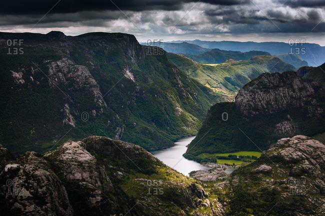 A river in a Norwegian landscape