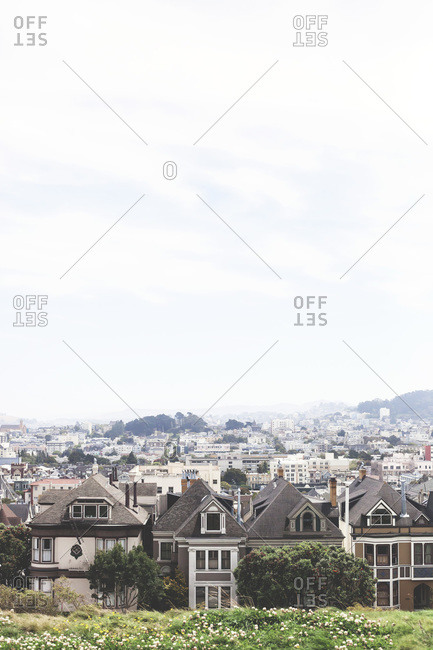 View across the rooftops of San Francisco