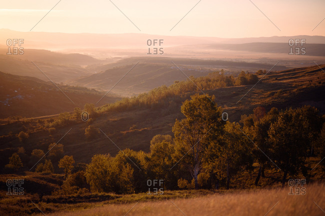 Carpathian Mountains scenery - Offset Collection