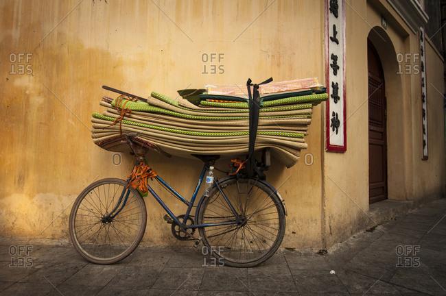 Bicycle on a Hanoi street