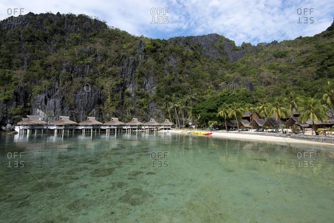 Miniloc Island Resort in El Nido, Palawan