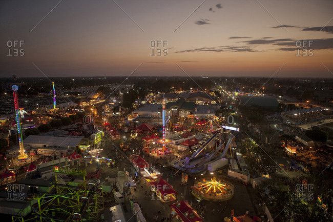 Fair in Orange County in California USA