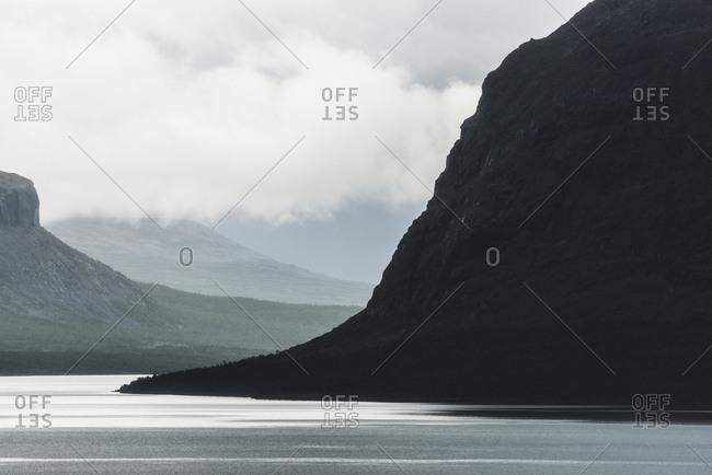 Scenic cliffs, Sarek National Park