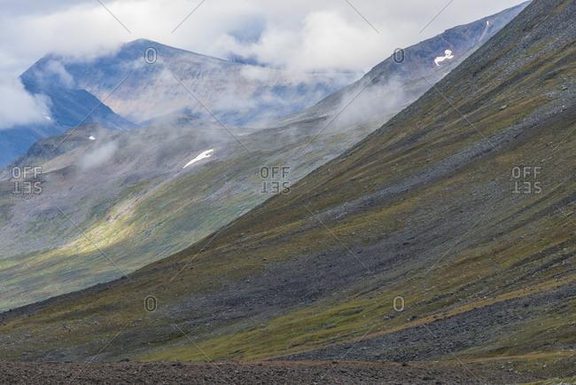 Mountain landscape, Sarek National Park