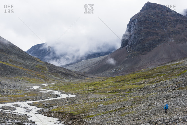 Mountain landscape, Sarek National Park