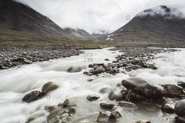 Mountain river stream - Offset Collection