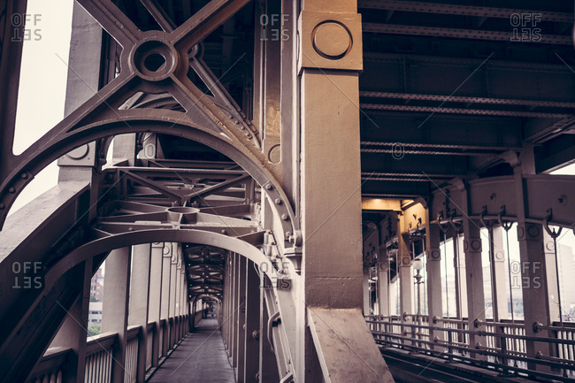High-Level Bridge, Newcastle-Upon-Tyne, England, UK
