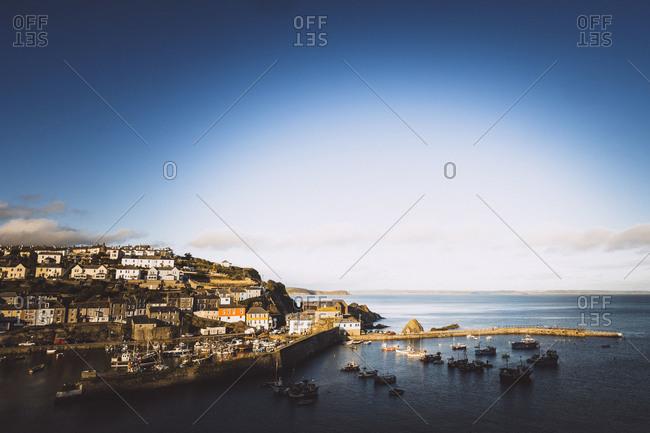Fishing port of Mevagissey, Cornwall, UK