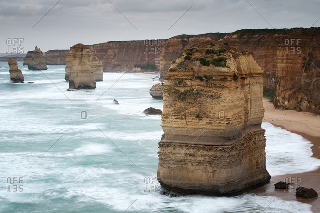 The Twelve Apostles in Port Campbell National Park, Australia