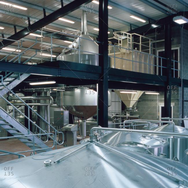 Burnley, Lancashire, UK - February 25, 2011: Brewery in Lancashire, England