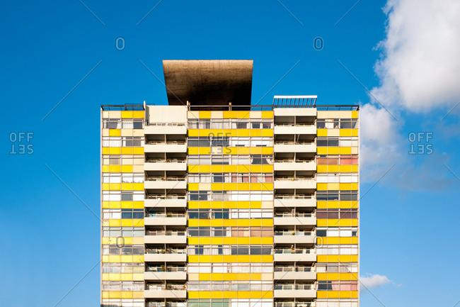 London, UK - April 19, 2014: Residential tower in London