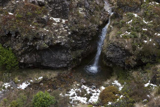 Waterfall in Tongariro National Park