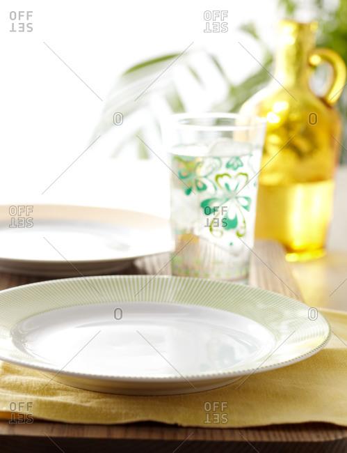 Whimsical vintage dinnerware