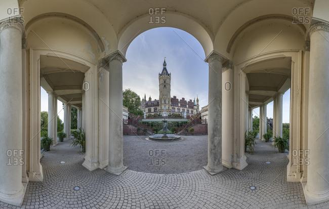 Burggarten, Mecklenburg-Vorpommern, Germany