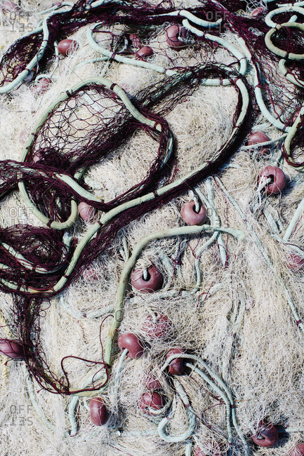Greek fishing nets