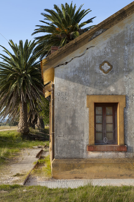 Exterior of a house in Uruguay