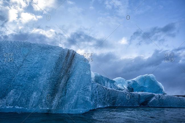Iceberg in Jokulsarlon, Iceland - Offset