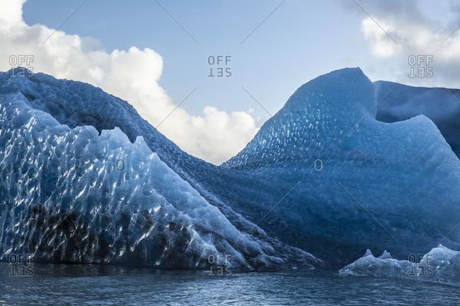 Huge iceberg in Jokulsarlon, Iceland