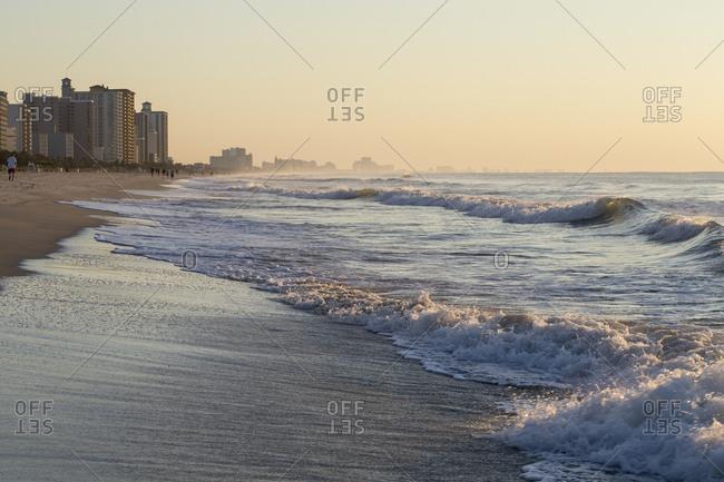 Myrtle Beach shoreline