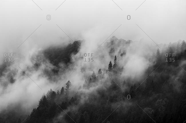 Mountains in Bolzano, Italy - Offset