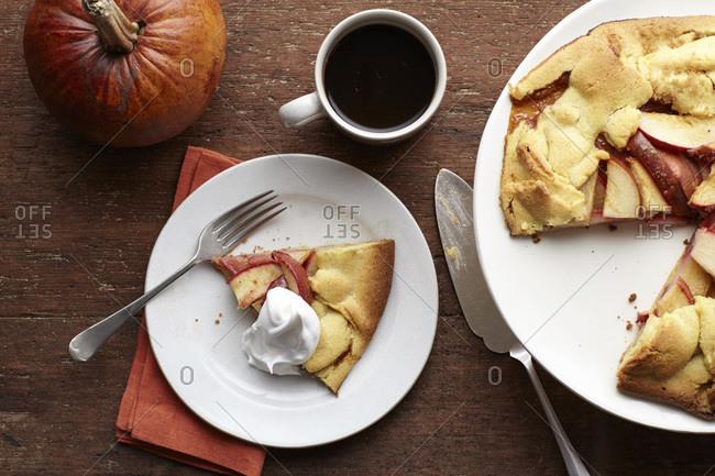 Thanksgiving tart tatin