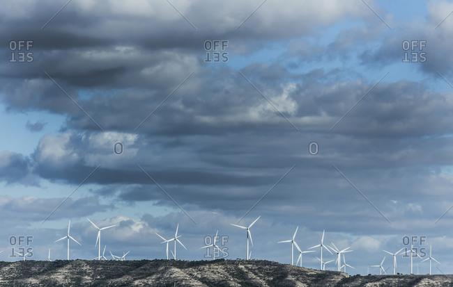 Wind farm, Palencia, Spain
