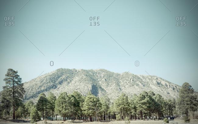 Mountain range in Arizona
