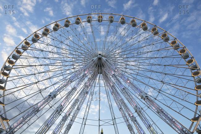 Ferris wheel on the Place de la Concorde Paris France