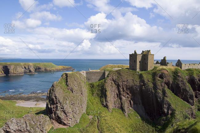 Dunnottar castle Aberdeenshire Scotland U.K.