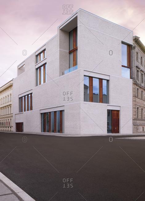Berlin, Germany - May 17, 2013: Gallery Building in Berlin