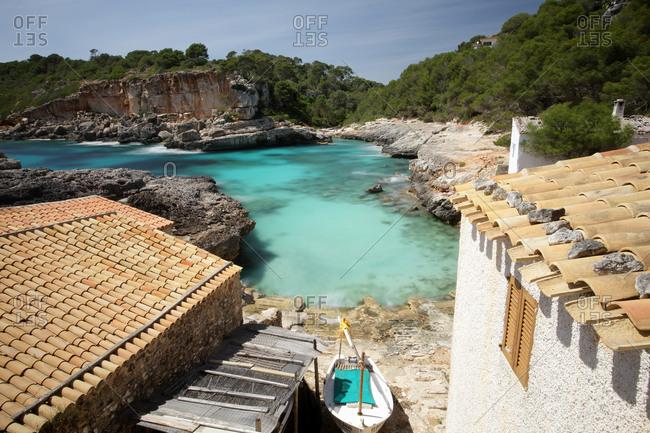 Cala S'Almunia on the island of Mallorca.