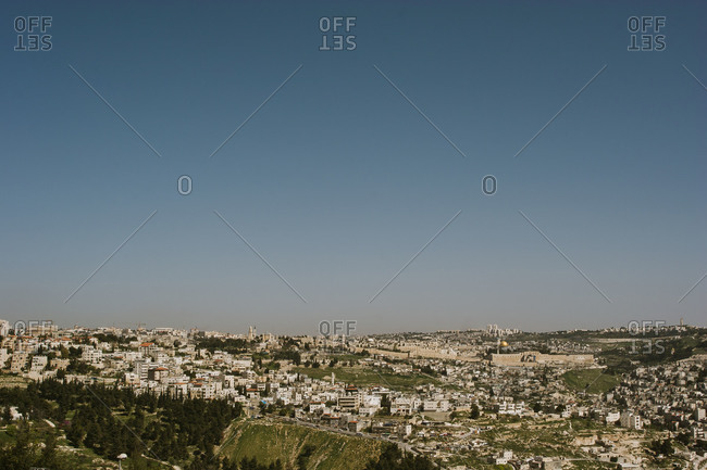 The old city of Jerusalem, Israel