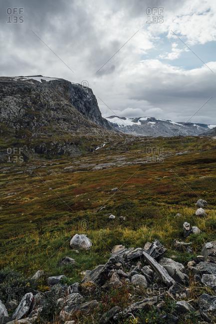 Autumn at Trollstigen Plateau in Norway