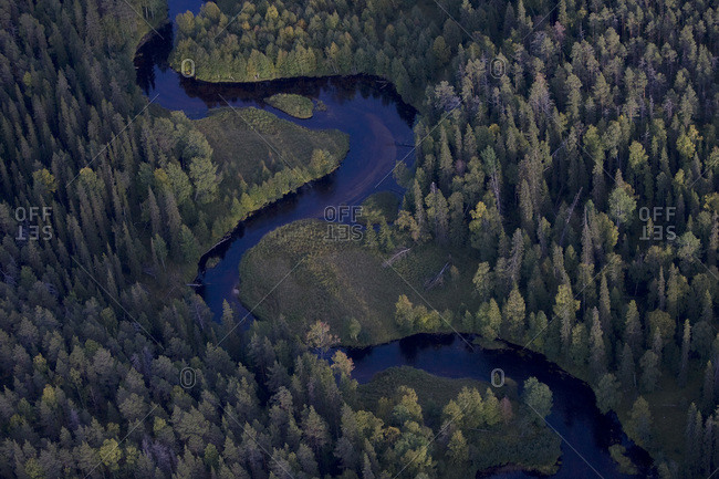The Savinajoki River in Oulanka National Park, Finland