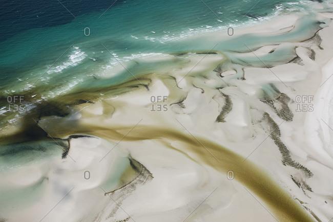 The Wathumba Creek Estuary on Fraser Island, Australia