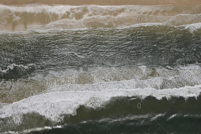 The Eastern coast of Fraser Island, Australia