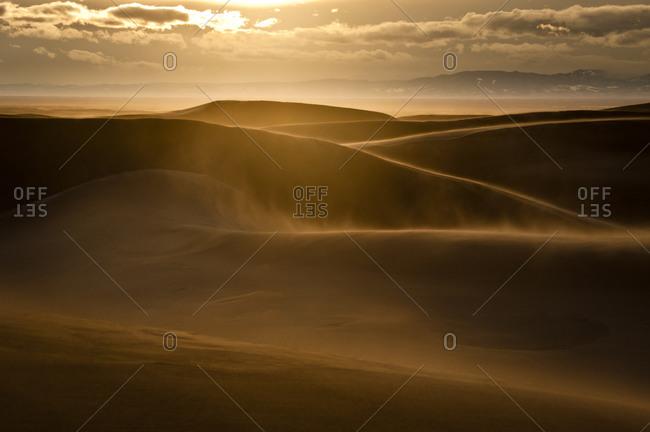 Sunset over Great Sand Dunes Alamosa, Colorado, United States