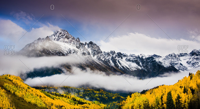 View of Mt. Sneffels in Telluride, Colorado, USA