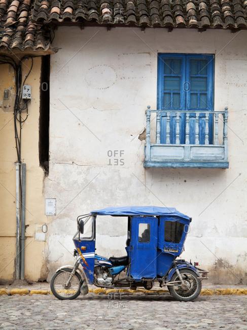 Tuk Tuk in Lima Peru