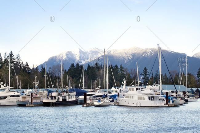 Fishing boats in British Columbia