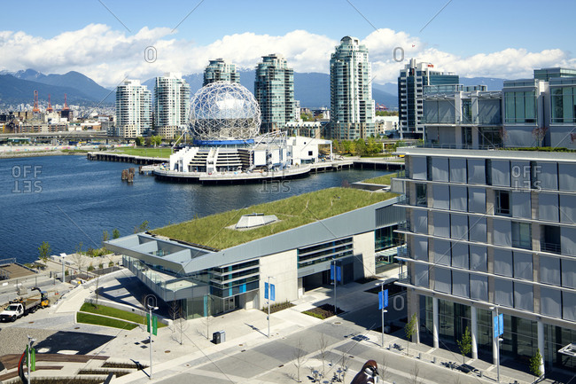 Vancouver, Canada - April 22, 2010 : View of the Science World