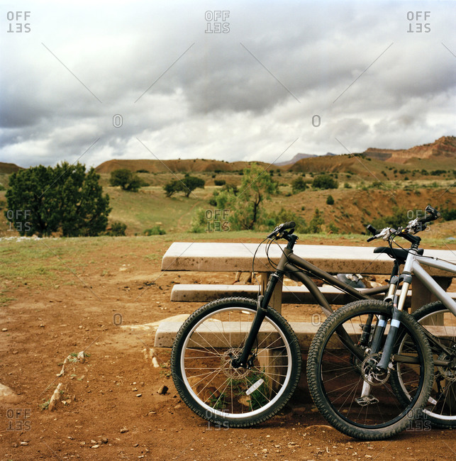 Bikes at Grand Junction, Colorado
