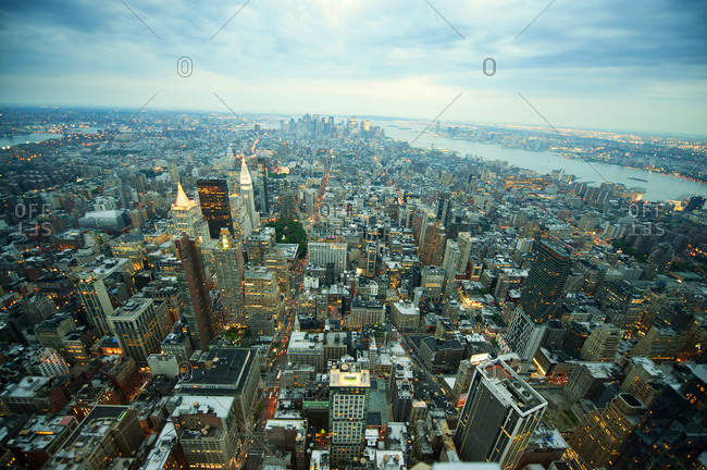 Manhattan from above - Offset Collection