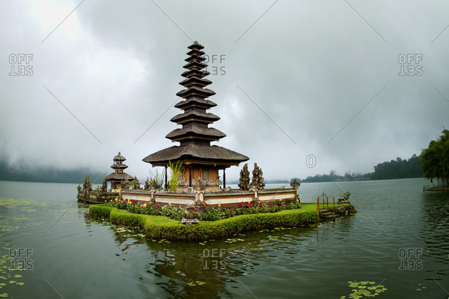 Floating Temple on Lake Bratan, Bedugul, Bali