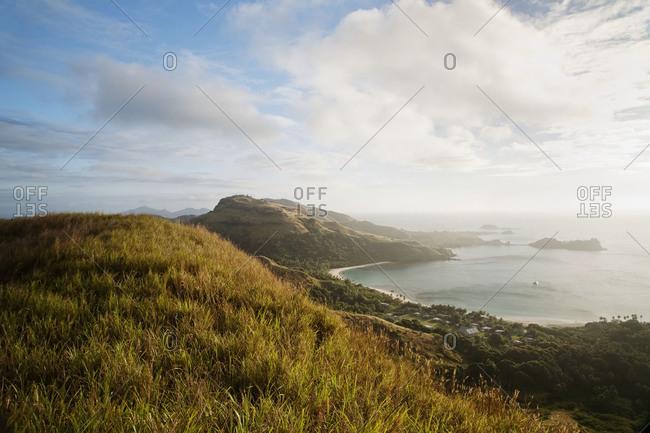 View of the ocean at Malakati, Fiji