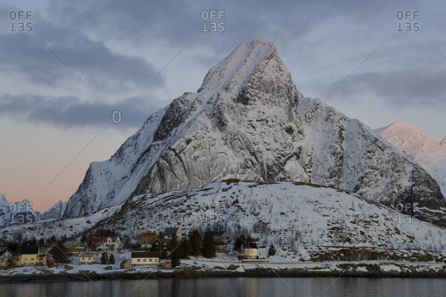The town of Reine, Lofoten Islands, Norway